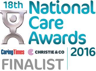 National Care Awards Finalist 2016