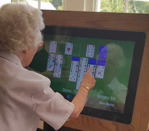 Our new Interactive Table is enhancing our residents online experience